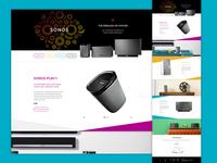 Speaker Landing Page