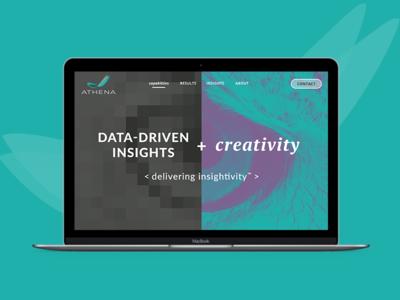 Athena Homepage Concept