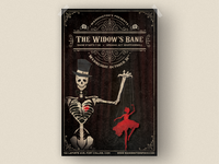 The Widow's Bane Concert Poster