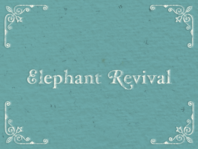 Elephant Revival Wordmark Logo
