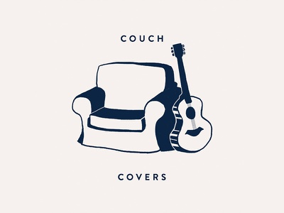 Couch Covers illustration art illustrations home quarantine music guitar couch illustration