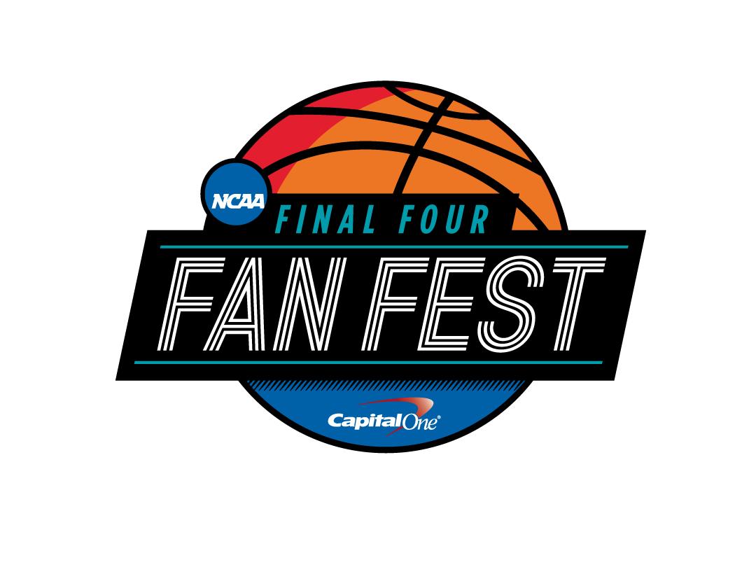 Final Four Fan Fest Logo Concept design branding logo final four