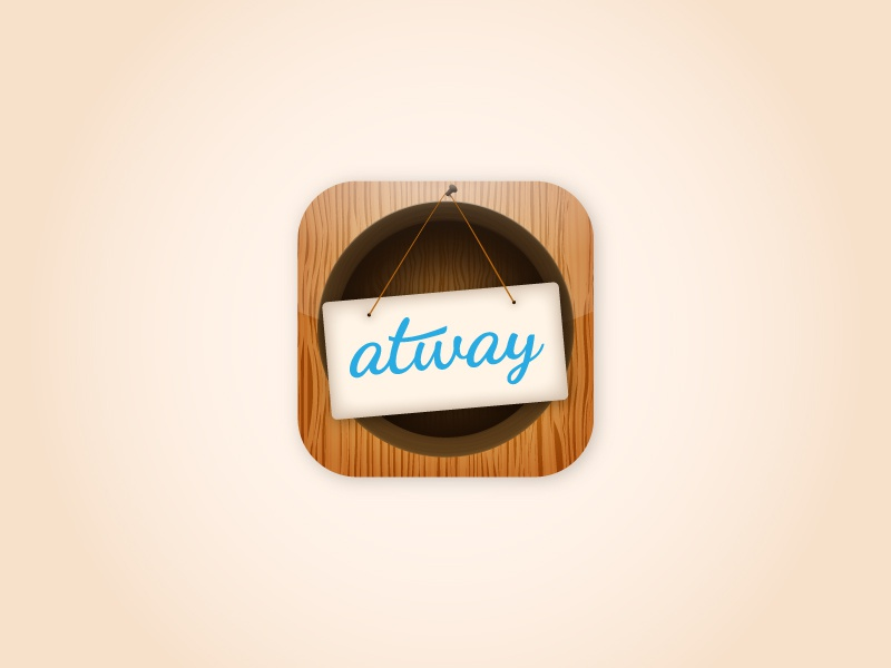 Atway App Icon by Ralston Vaz on Dribbble