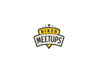 Biker Meetups Logo Design