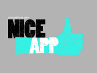 Niceapp shirt design