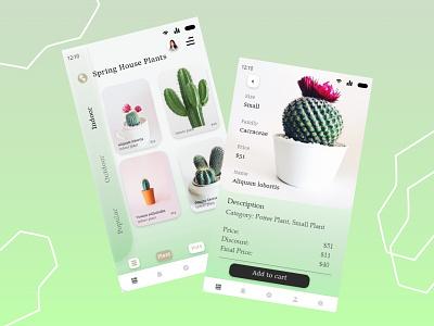 Cactus App branding ui