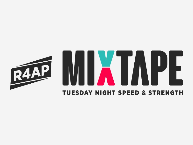 MIXTAPE Logo strength speed running mixtape