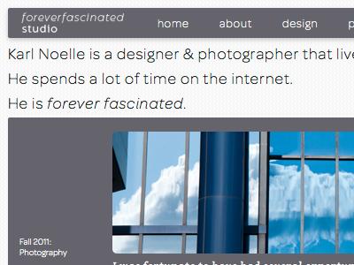 New year, new website! website redesign gray minimal