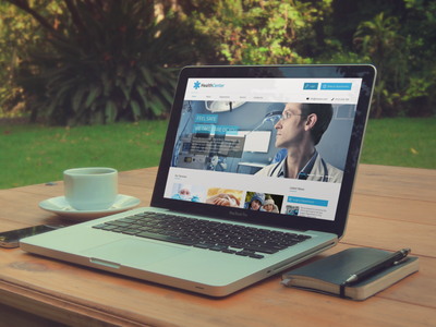 Clinic Web App website design development application clinic medical