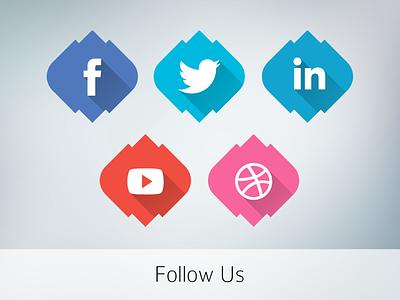Follow Us creiden web development design wordpress egypt