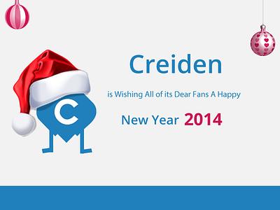 Happy New Year! happy new year web development design 2014 creiden