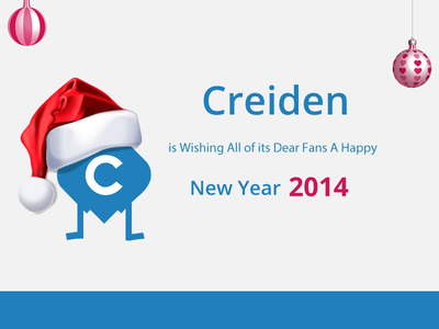 Happy New Year! happy new year web development design 2014 creiden