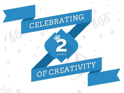 Celebrating Two Years Of Success success celebration creativity design development creiden websites