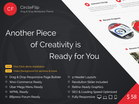 CircleFlip Wordpress Responsive Theme