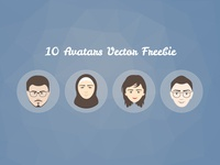 10 Free Avatars Vector