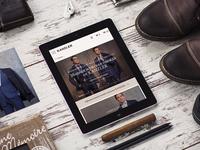 Kanzler - online store design