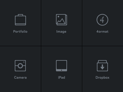 iPad App - Icons