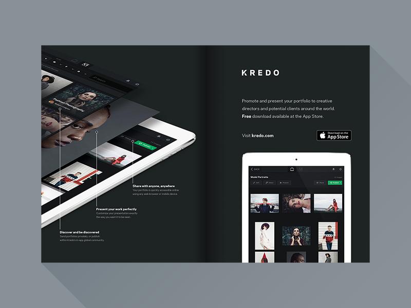 Kredo magazine ad 2 01 0111