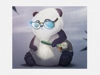 Toke for pandas full shot