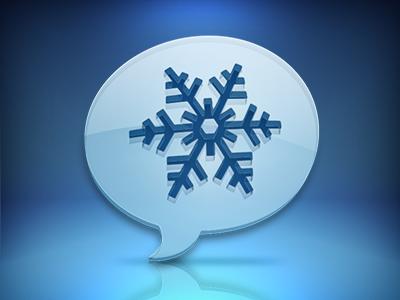 Winter windows app icon twitter winter blue
