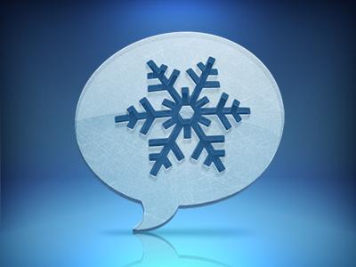 Winter, take 2 windows app icon twitter winter blue