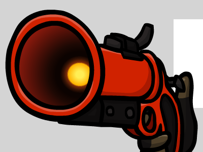 The Distress Disposal game illustration tf2 weapon flash red fire
