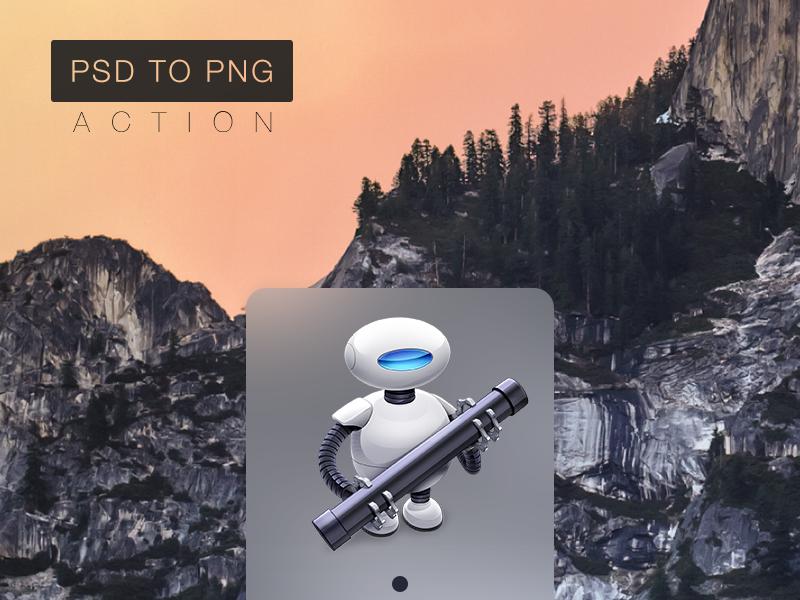 PSD to PNG - Automator Action lpzilva os x freebie yosemite free automator action psd png photoshop