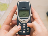 Flappy Bird - Nokia 3310 Version (Available on Nokia Store) lpzilva bird flappy game ui pixel mockuuups fools april 3310 nokia