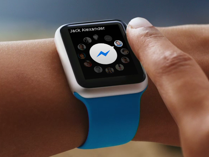 Messenger apple watch