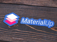 MaterialUp Stickers