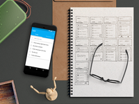 Up48 App + Wireframing Journey