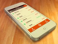 Finance Concept - Tilted Shot
