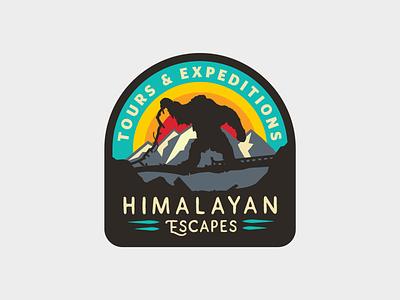 Everest II yeti walt disney world theme park retro patch mountain disney badge animal kingdom