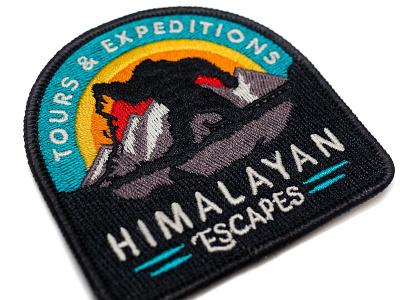 Everest Patch embroidered yeti walt disney world theme park retro patch mountain disney badge animal kingdom