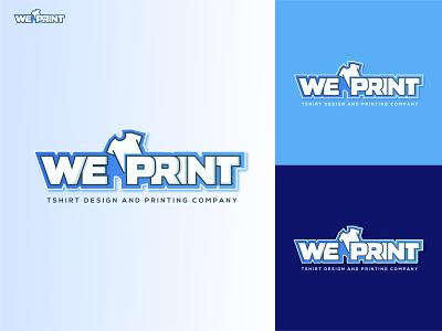 WePrint Logo / T-shirt Logo lettermark vector brandidentity typography businesslogo teamwork ecommercelogo brandlogo agencylogo tshirtlogo wlogo creative logo professionallogo branding popularlogo minimallogo flatlogo logodesign creativelogo