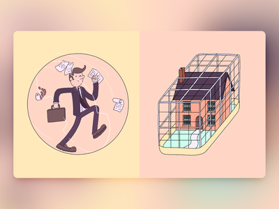 Would You Rather - #068 newsletter aweber cage ui hamster procreate illustration