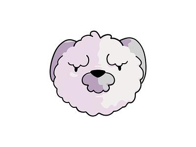 A Shaggy Dog grumpy illustration shaggy dog procreate
