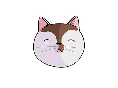 Snoozing Cat cats procreate cartoon cat snoozing