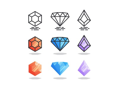 Gems illustration stone diamond gem