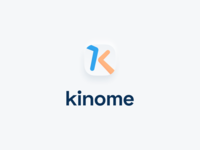 kinome logo design vector branding app health app icon icon logo design sport fitness fitness app logo