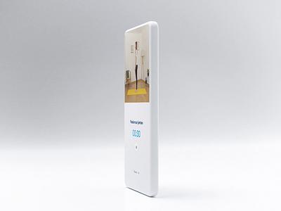 Kinome - Exercice 3d blender ux ui design product design motion mobile interaction minimal health design ui app animation