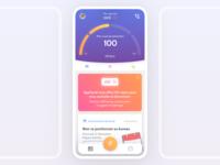 Health app - homepage