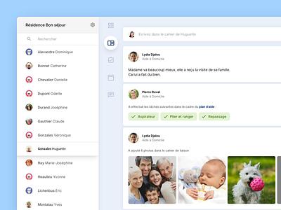 aem - senior health webdeisgn inteface health design ui ux