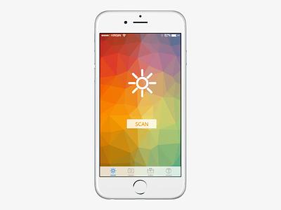 Eden Light Control App design ui app tessellated