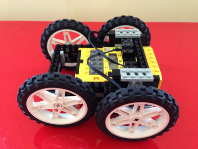 Lego Robot Car toy play block wheel brick car robot legos lego