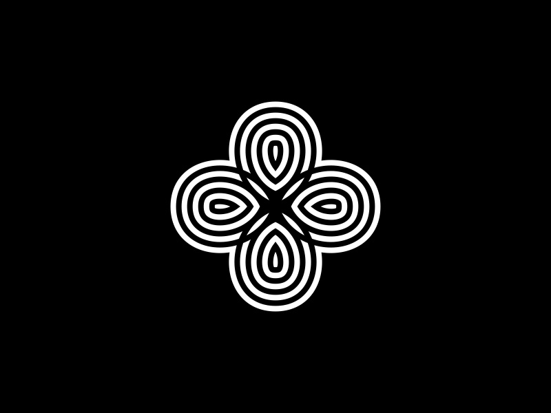 Nature Lines simple nature natural minimalist minimal logotype logo line cross branding brand abstract
