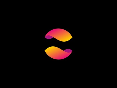 Liquid Sphere vector sphere mark logotype logo liquid gradient geometric colorful circle branding brand