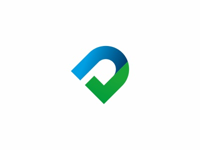 D Is For Done brand check checkmark clean graphic design initial letter logo mark modern monogram simple