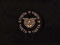 Theta pi theta owl patch 2