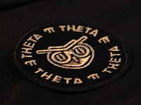 Theta Pi Theta owl patch